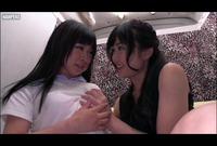 【素人】超ハズィ!オマ○コくぱぁで初レズ絶頂体験! Vol.02